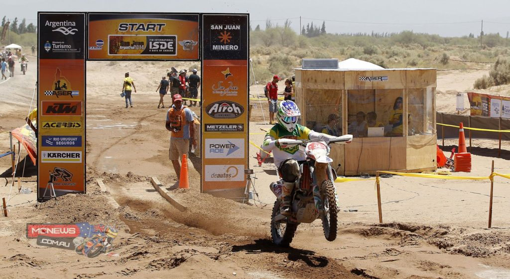 Toby Price ISDE 2014