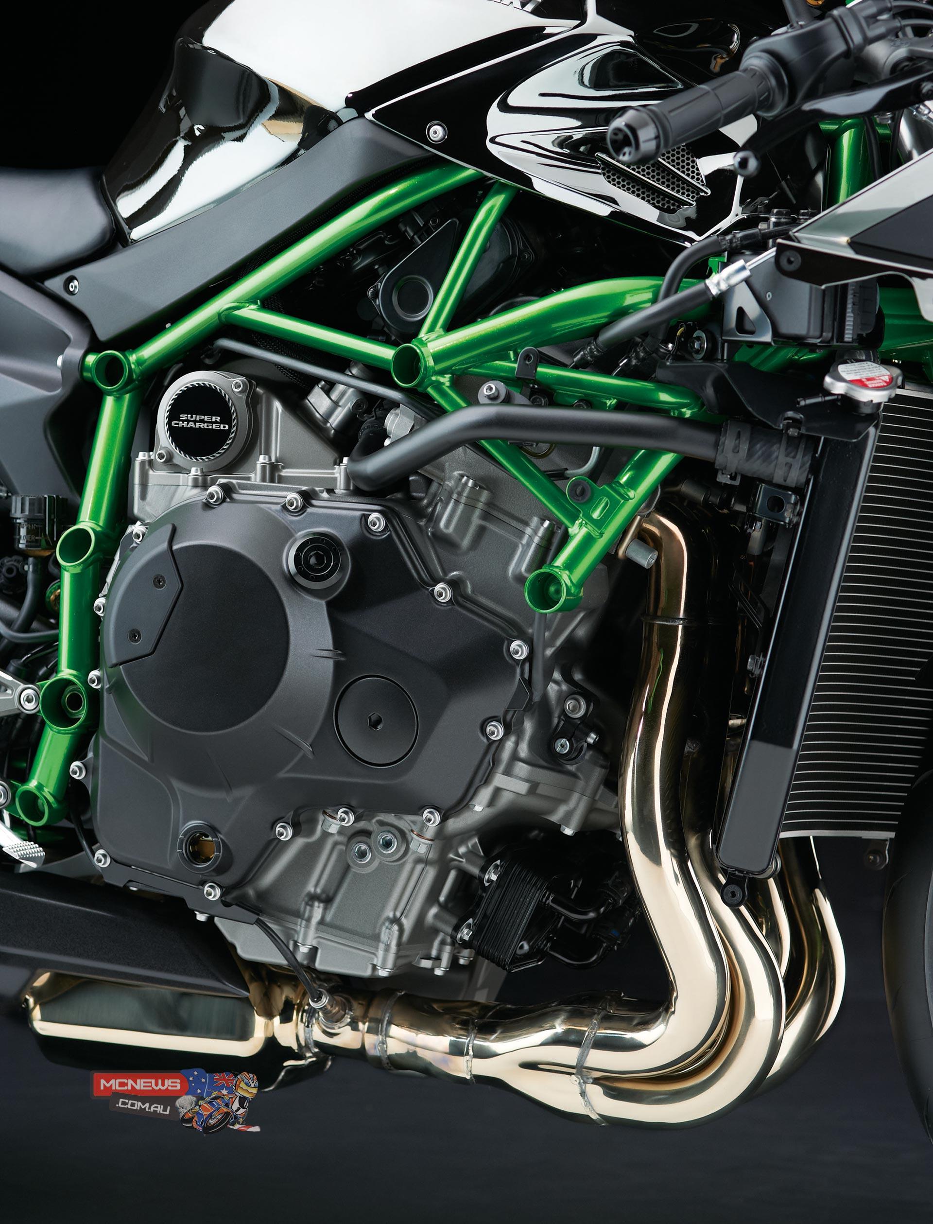 Kawasaki Ninja H2 In Full Detail Mcnewscomau