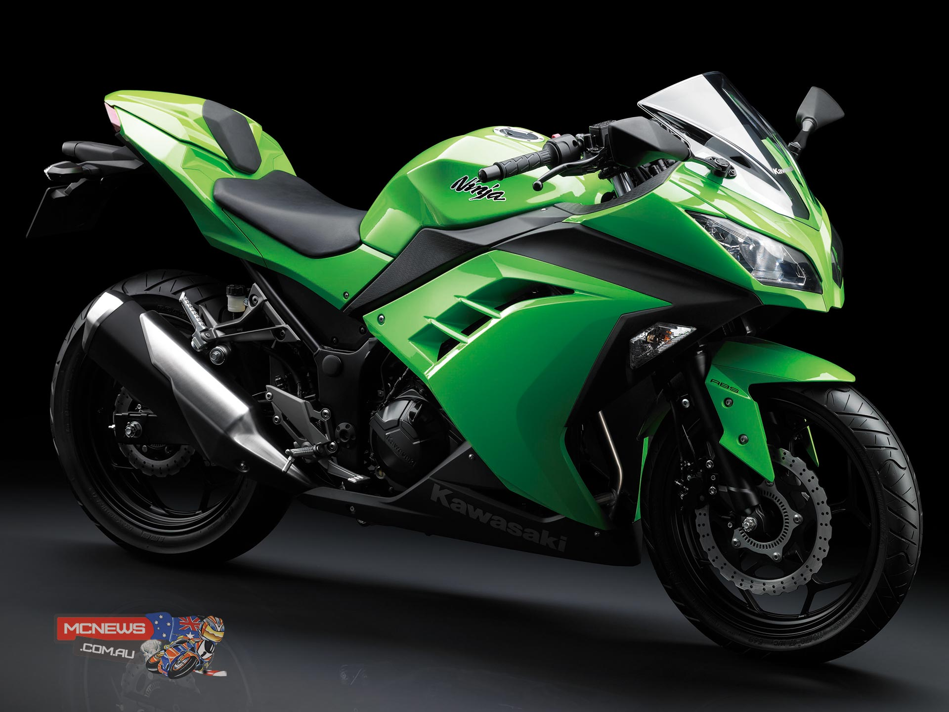 Kawasaki Ninja 300 remains Australia's top selling motorcycle