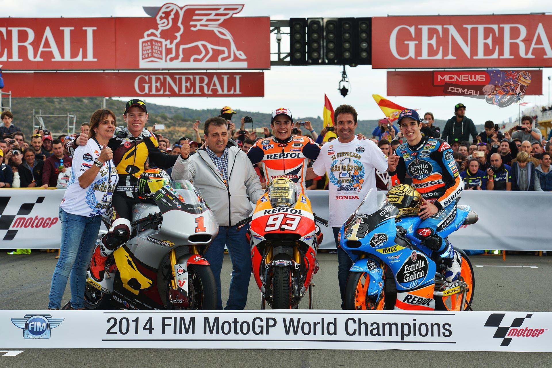2014 MotoGP Champions