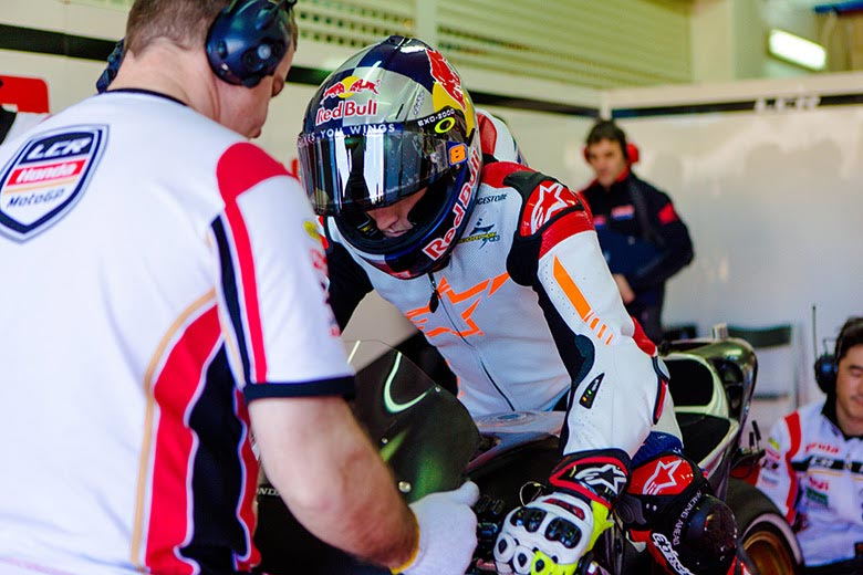 Having moved from a bike with less than a quarter of the power of his new MotoGP machine, this test was always about Jack Miller familiarising himself with the package he will race in 2015. Both he and the CWM LCR Honda Team were extremely happy with his quick adaptation and they will get another chance to improve that rapport when he joins other MotoGP rookies for an extra test in Malaysia at the end of this month.