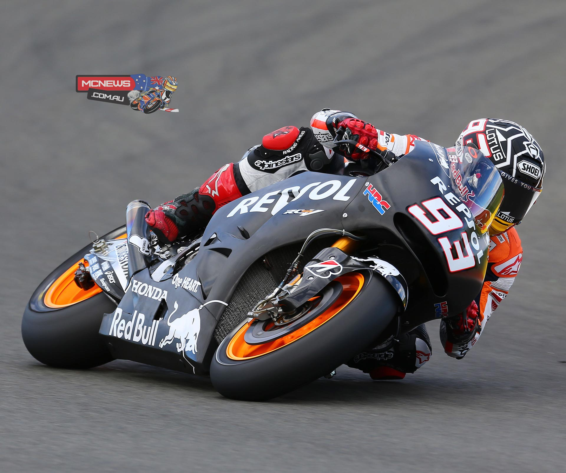 """Marc Marquez - 1st - 1'30.973 (68 laps) - """"Today went well because we were able to gather a lot of data. We tried out both bikes: this year's and the 2015 machine. The new prototype has more potential in some aspects but, as is normal, I felt better with the 2014 bike - with which I set my fastest time. It's true that in one day we have not had too much time to work on setting up the new prototype, but I think that it has potential and that this test has been important for Honda because of the information obtained. The HRC engineers have also found out which way to go this Winter to try to improve for the test in Malaysia, which takes place in February. Thanks to all my team and to all the fans for an unforgettable 2014!"""""""