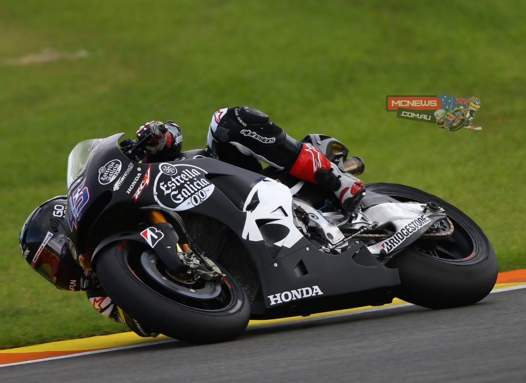 """Scott Redding // 14th // 1'32.621 - """"Yesterday we made good progress but today, in the dry, it was a bit frustrating. I felt good on the bike, but the lap time didn't come and I couldn't really see why. Then right at the end of the day I got half a lap behind Dani Pedrosa and immediately it was obvious where we were losing time. From mid-corner to exit I couldn't carry speed and I was struggling to keep the front wheel down, so we need to look more closely at the balance of the bike ahead of the next test. We've got the power, but now we need to work on getting that power down on the track where we need it. Again today we've worked on riding position, making modifications to the tank, and I feel more comfortable on the bike now. This was our first test and we're still learning, but the team is working well together and now I'm looking forward to the next test in Malaysia."""""""