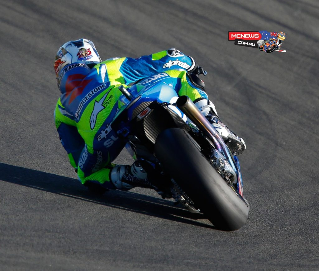 The 2013 Moto3 World Champion and 2014 Moto2 Rookie of the Year Maverick Viñales is one of the most promising young riders in the sport having racked up a total of 16 Grand Prix wins in the smaller classes at the age of just 19. Viñales took the Moto3 title last year in dramatic fashion at the final race of the season and would go on to score a victory in just his second appearance in the intermediate category in 2014 as he impressed the paddock with his talent throughout the year. He also impressed Suzuki and they have recruited him alongside his countryman Aleix Espargaro to ride the GSX-RR in 2015 and spearhead their return to Grand Prix racing.