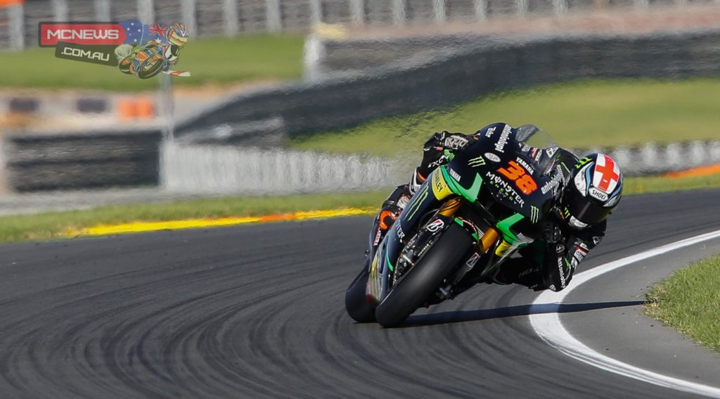 Bradley Smith was third quickest on the opening day of 2015 pre-season testing