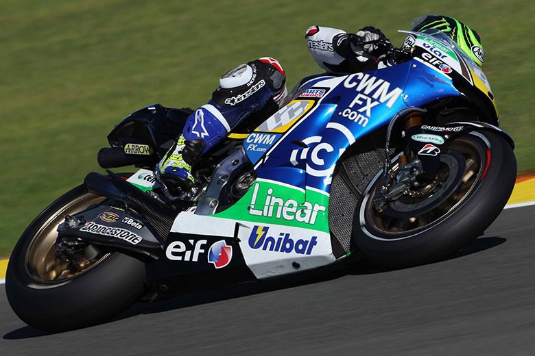 """Cal Crutchlow #35 (8th place, 1'31.847, 53 laps)  """"It's been a good first day with the CWM LCR Honda Team, and I'm pleased to say that we all worked well together. We made some small settings adjustments throughout the day that I thought were positive, but ultimately I'm learning to ride the Honda for the first time; it was a different experience, but enjoyable nonetheless. Today is just a familiarisation day and we made some shorter runs because I didn't really understand some things in some corners, but we are quite pleased with the initial pace of me riding the Honda."""""""