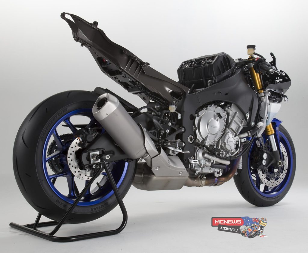 YZF-R1 CHASSIS - Lightweight Deltabox frame