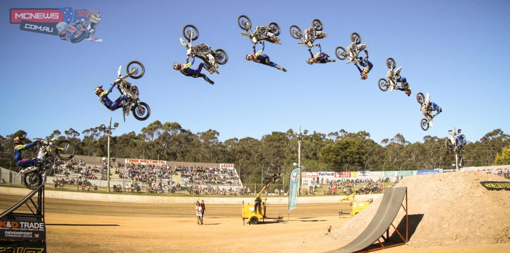 Cam Sinclair wins inaugural Australian Speed and Style. Image by Marcus Skin