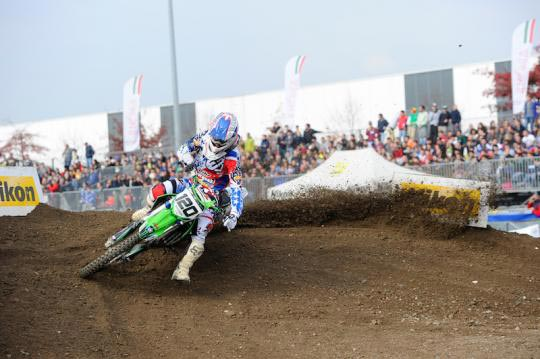 Cedric Soubeyras won Supercross in Italy
