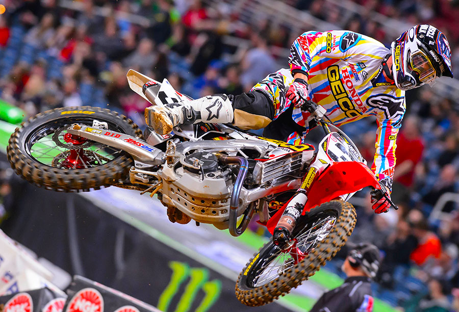 Eli Tomac was the star of Bercy 2014