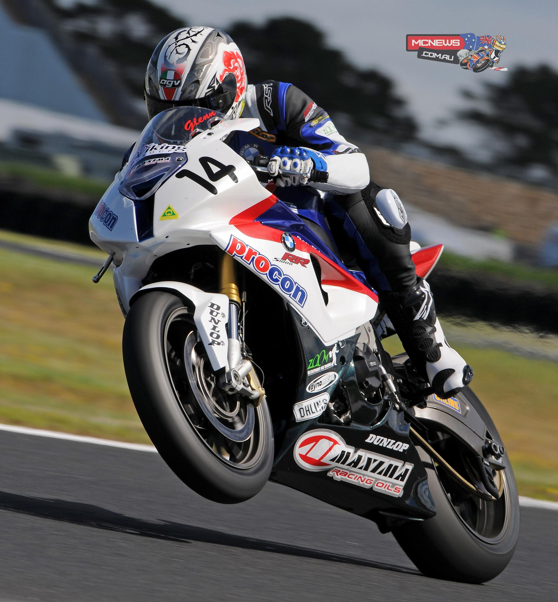 ASBK 2018 could see Glenn Allerton on a BMW S 1000 RR once again, but Suzuki is also an option for the three-time ASBK Champ