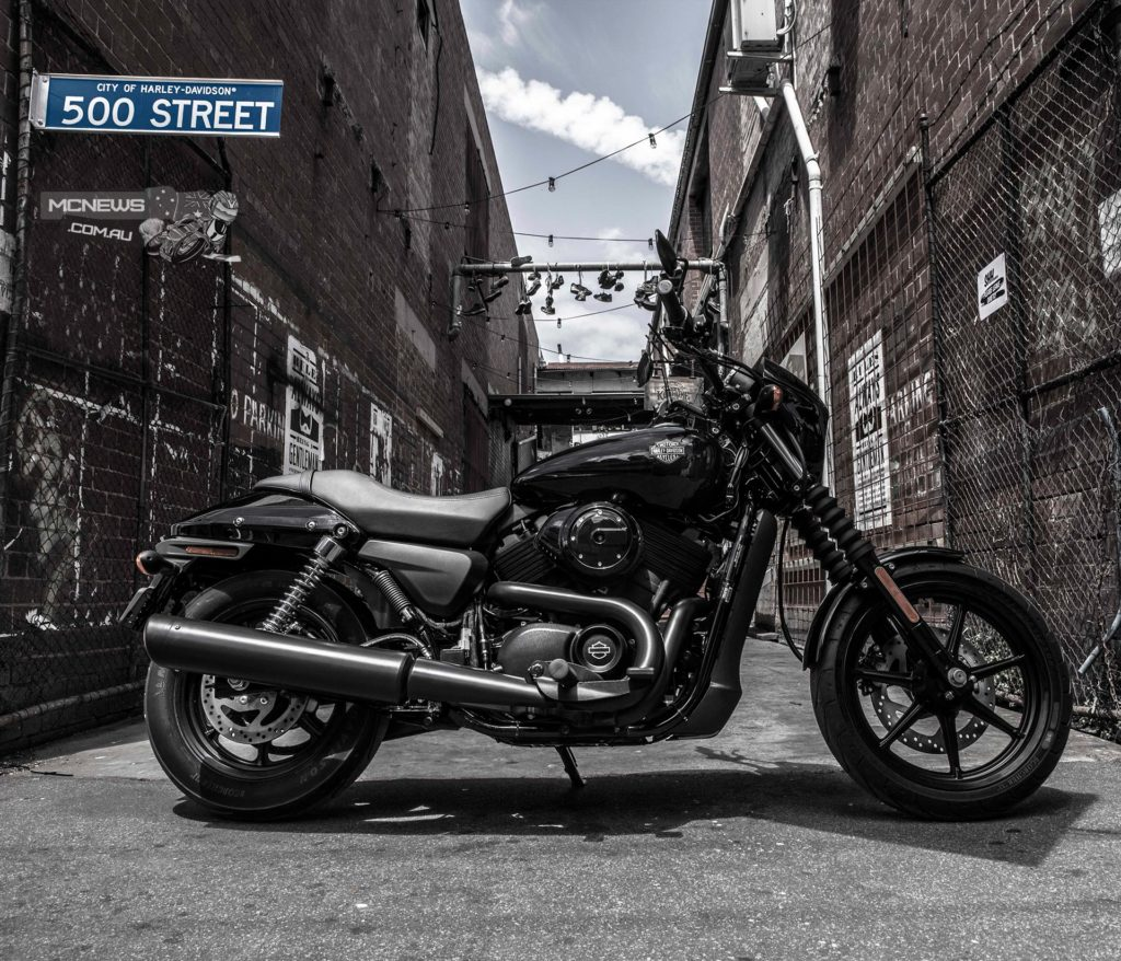Harley-Davidson's XG500 Street was Australia's top selling mainstream road motorcycle