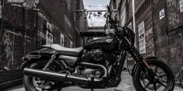 Harley-Davidson has temporarily renamed a Melbourne laneway – now known as '500 Street'.