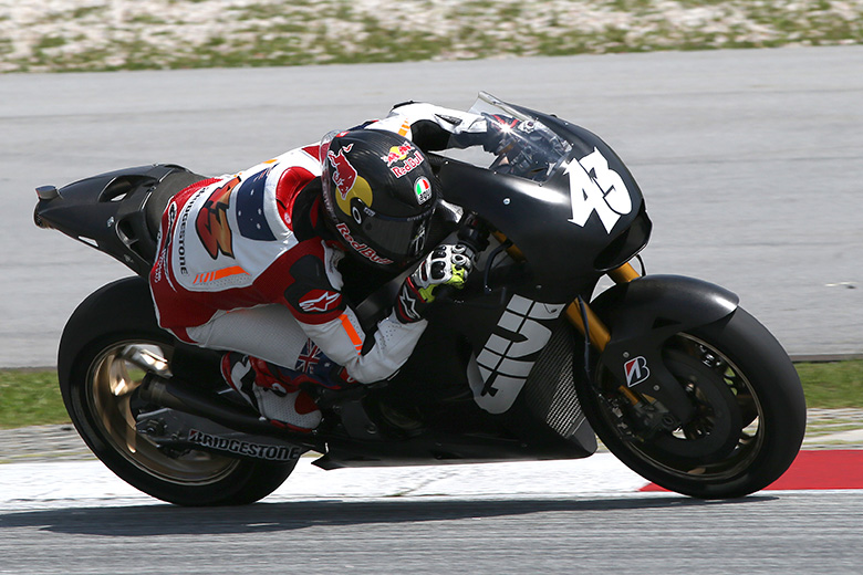 Jack Miller at Sepang Testing the CWM LCR Honda RC213V-RS