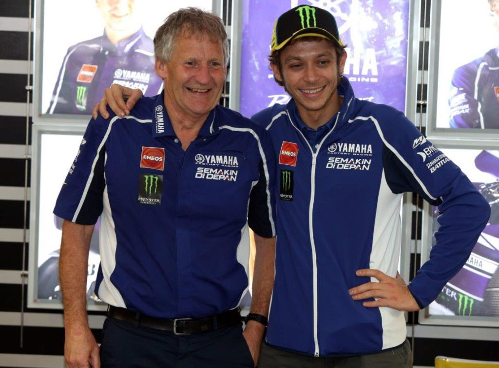 Jeremy Burgess and Valentino Rossi enjoyed a long and fruitful partnership