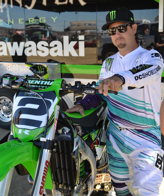 Jeremy McGrath Reunites with Kawasaki