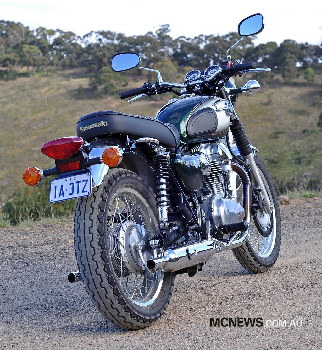 Kawasaki W800 Review Mcnewscomau