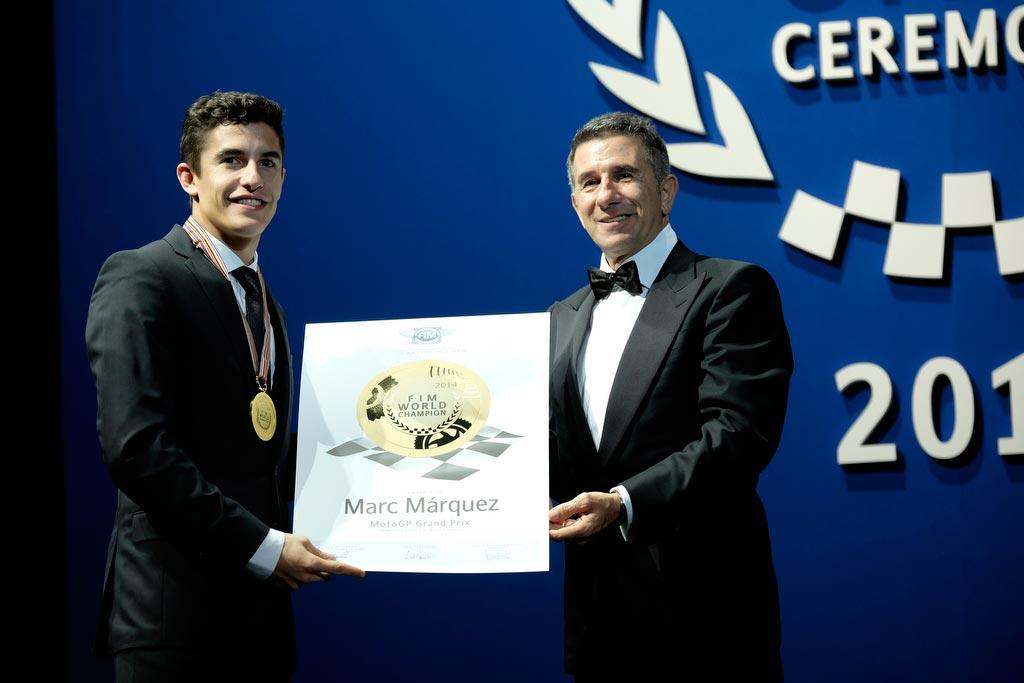 Jorge Martinez Aspar with Marc Marquez