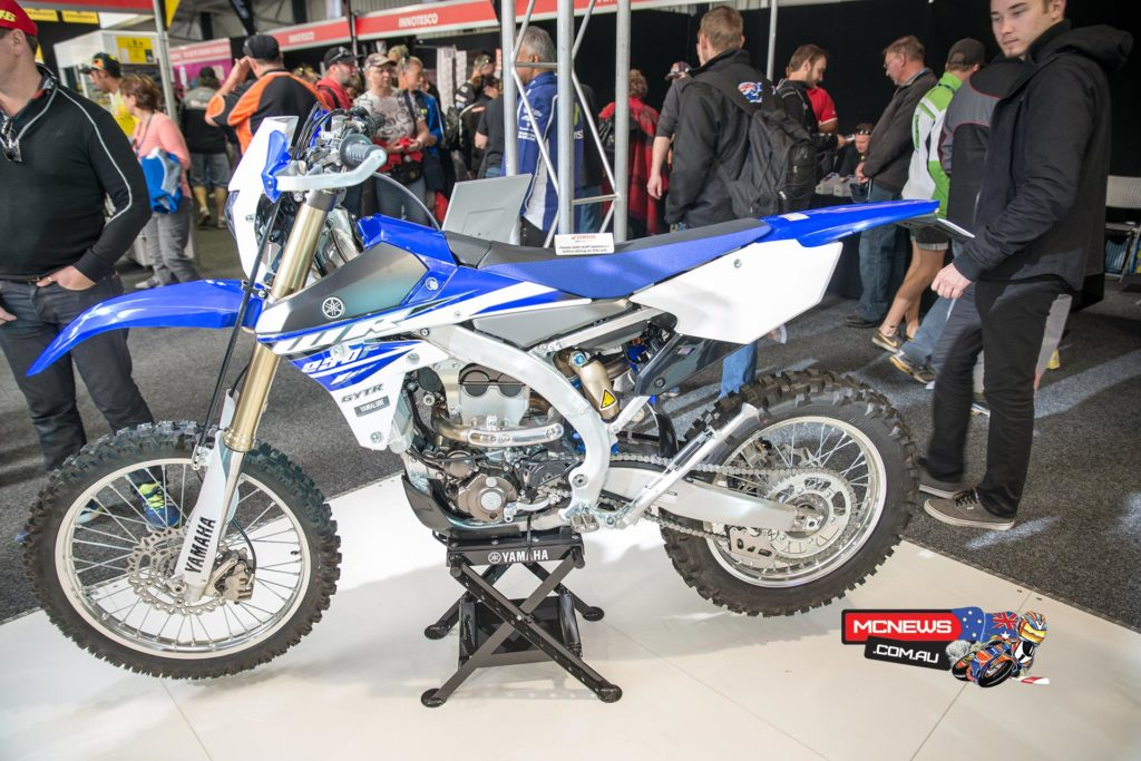 Yamaha's awesome new WR250F