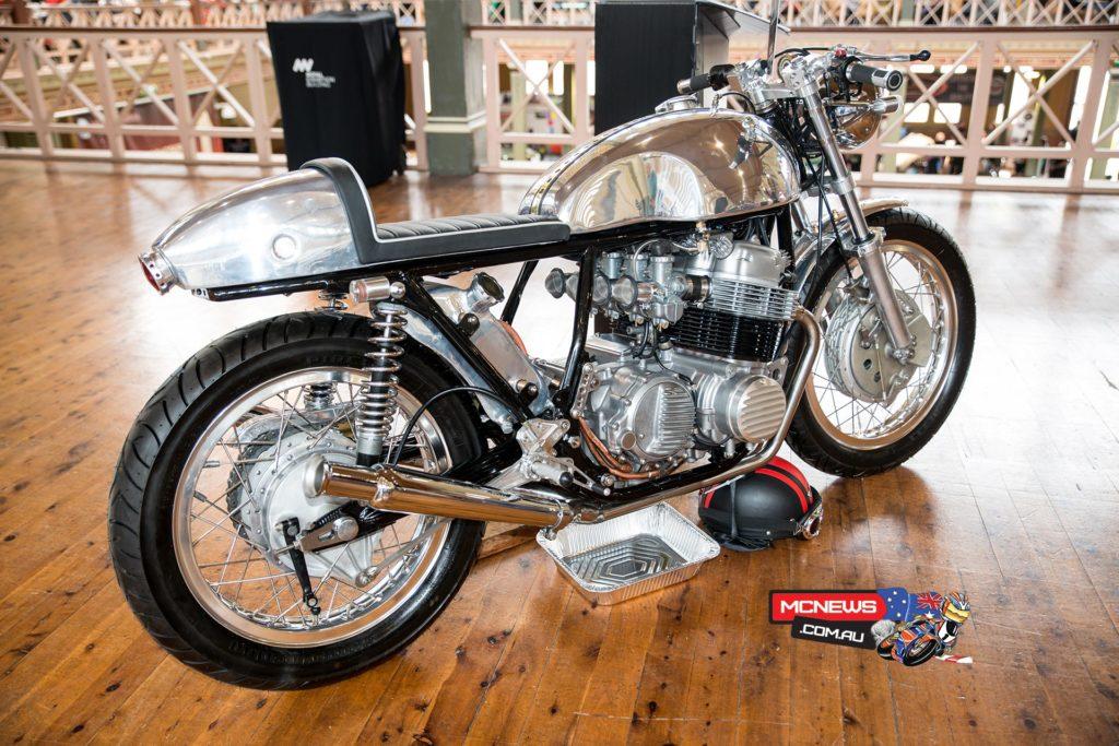 1973 Honda CB750 K3 Cafe Racer