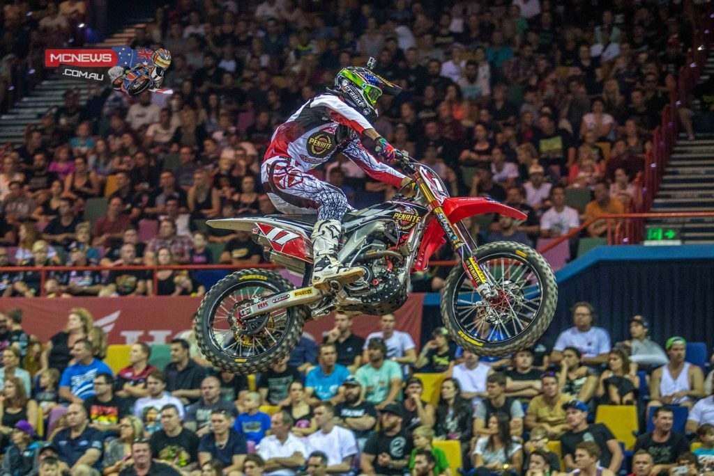 The Penrite Honda Racing team has ended the 2014 season in the best possible way, with Gavin Faith winning the Australian Supercross Championship SX2 title.