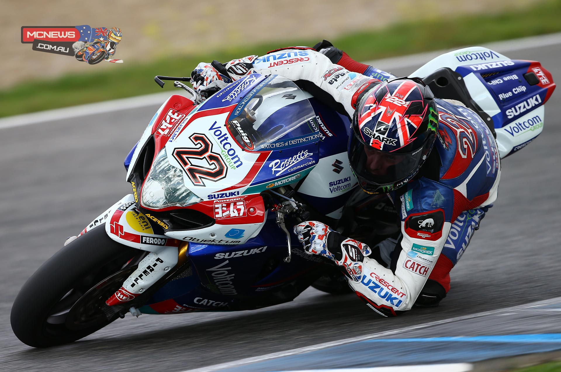 """Alex Lowes: """"It's been a good week, I'm happy to finish the year feeling confident and with a renewed optimism about the 2015 bike. It's slightly frustrating that we didn't get more of an opportunity to test everything we had planned but I'm happy with the overall performance. I'm feeling positive and stress-free heading into the winter which is always important. Thanks to the Voltcom Crescent Suzuki team for this year; we will try to improve next year and come back strong in pre-season testing in January."""""""