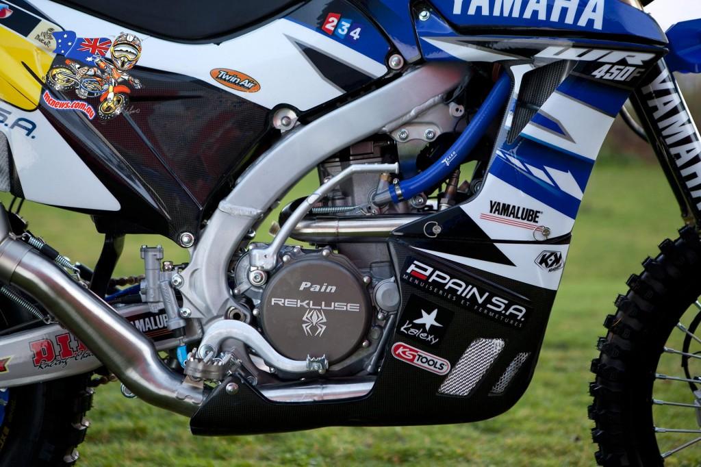 2015 Yamaha WR450F Rally