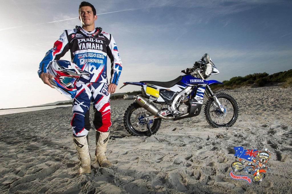 Olivier Pain and 2015 Yamaha WR450F Rally