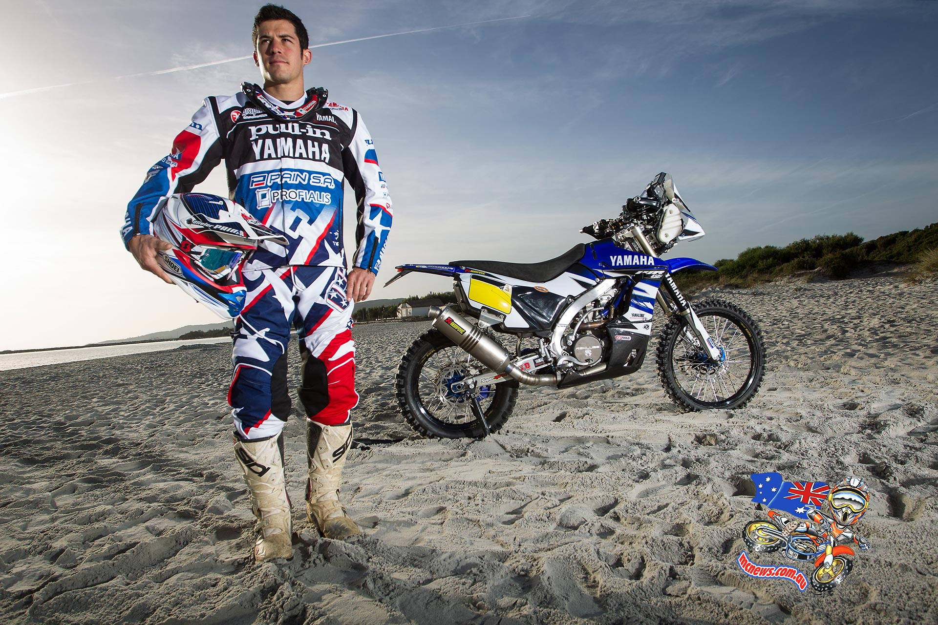 Oliver Pain and 2015 Yamaha WR450F Rally