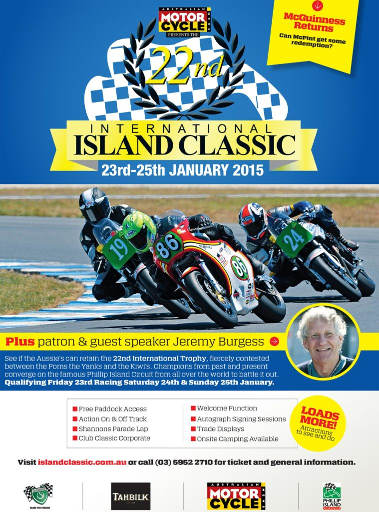 Island Classic 2015 - Book your tickets now!