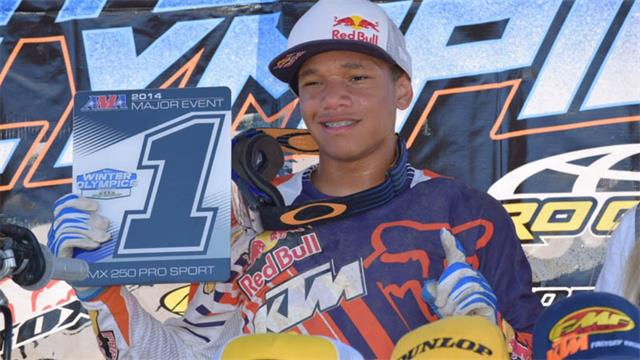 Maryland's Alexander Frye was one of the big winners on the Orange Brigade/Red Bull/FMF/Fox-backed KTM, left Gatorback Cycle Park with three titles and was the top title-getter in the A/Pro divisions.