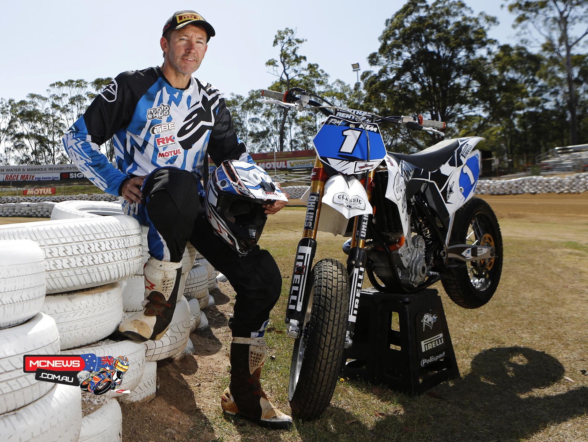 Aussie road racing legend and three-time world Superbike champion Troy Bayliss will take his KTM into arguably its toughest environment yet, at this weekend's Marc Marquez Superprestigio at Palau Sant Jordi Arena in Barcelona.