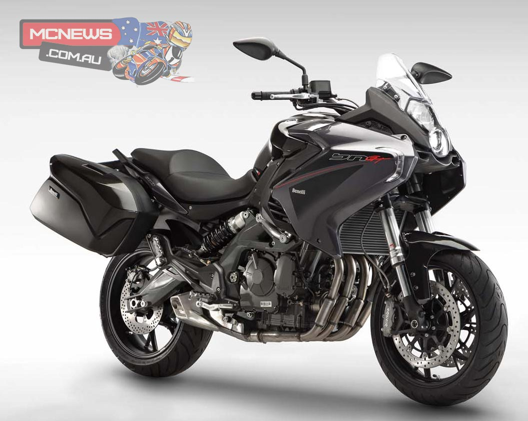 Benelli BN 600 GT - new sports-tourer with huge 27 lite fuel capacity