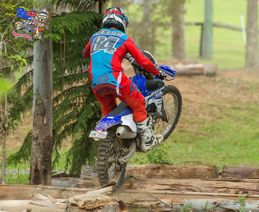 Chris Hollis on the 2015 Yamaha WR250F