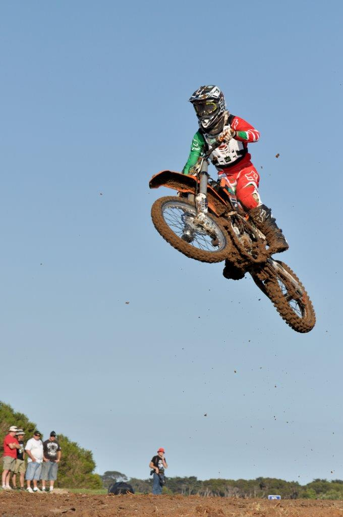 Freestyle motocross at WSBK