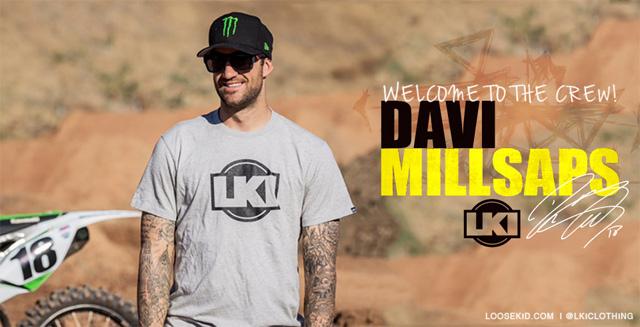 LKI has signed Davi Millsaps