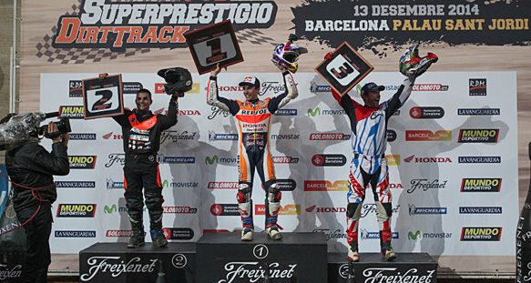Marc Marquez won Superprestigio 2014