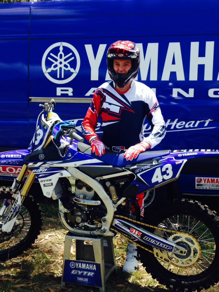Mitch Evans, will make his long awaited professional debut with the GYTR Yamaha team in 2015.