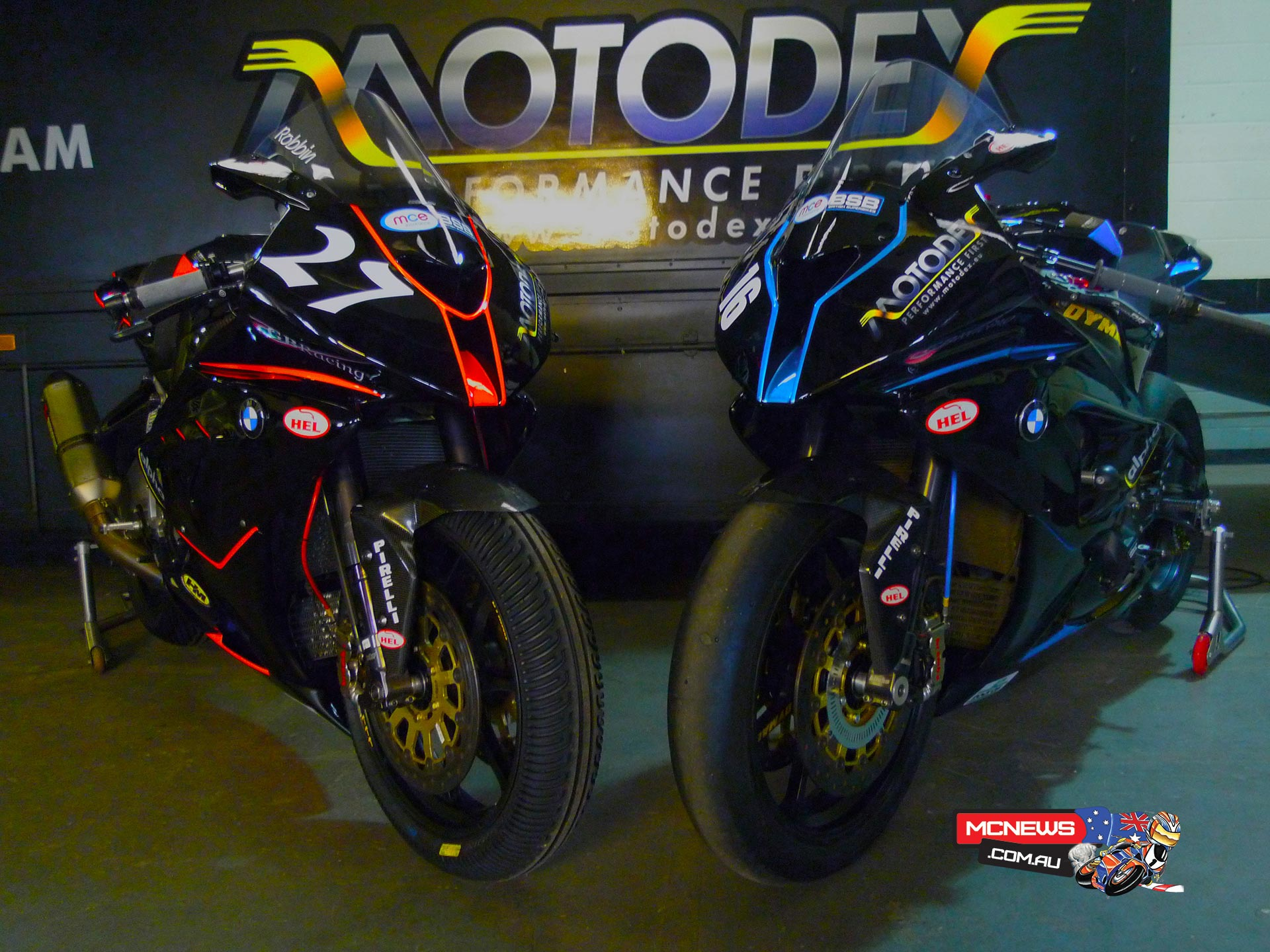 MotoDex Performance First BMW S 1000 RR Superbike