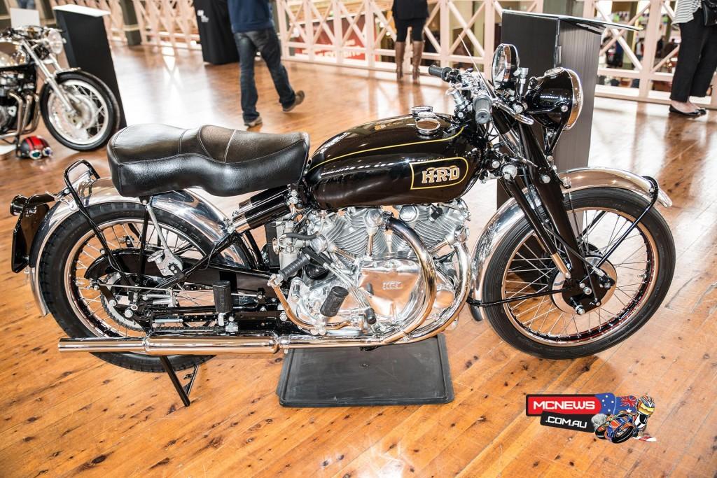1948 Vincent HRD Rapide 1000 Factory Race Special