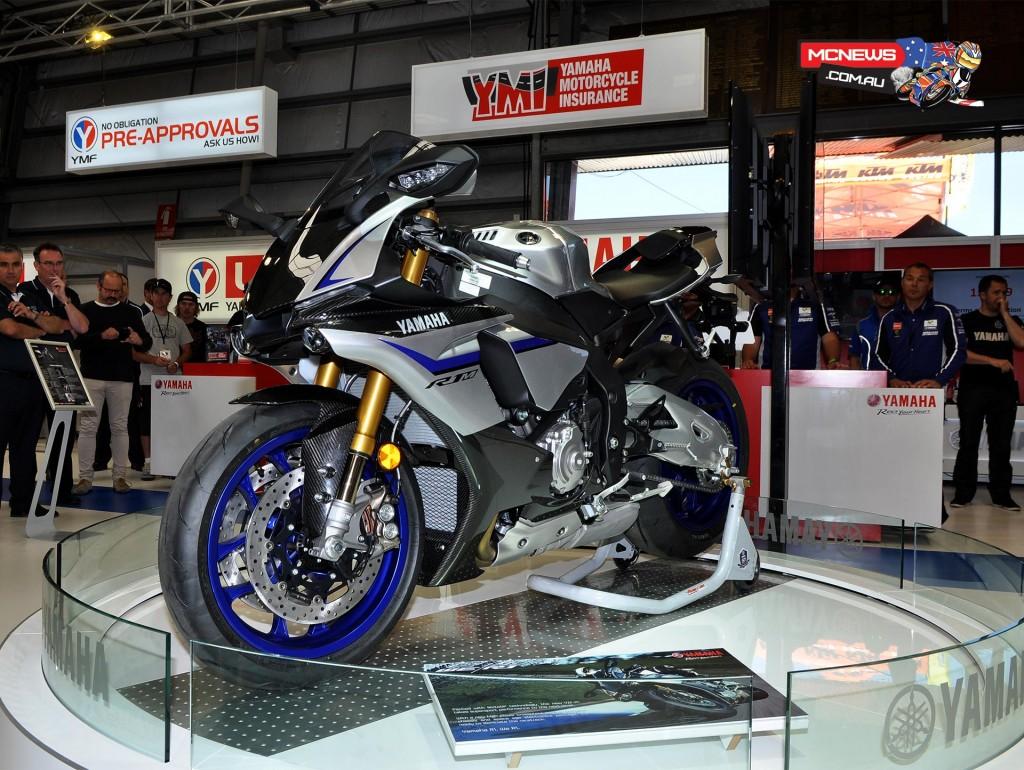 Yamaha YZF-R1M revealed at Moto Expo