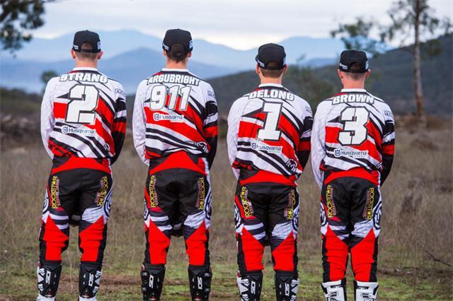 American Husqvarna Off-Road Team