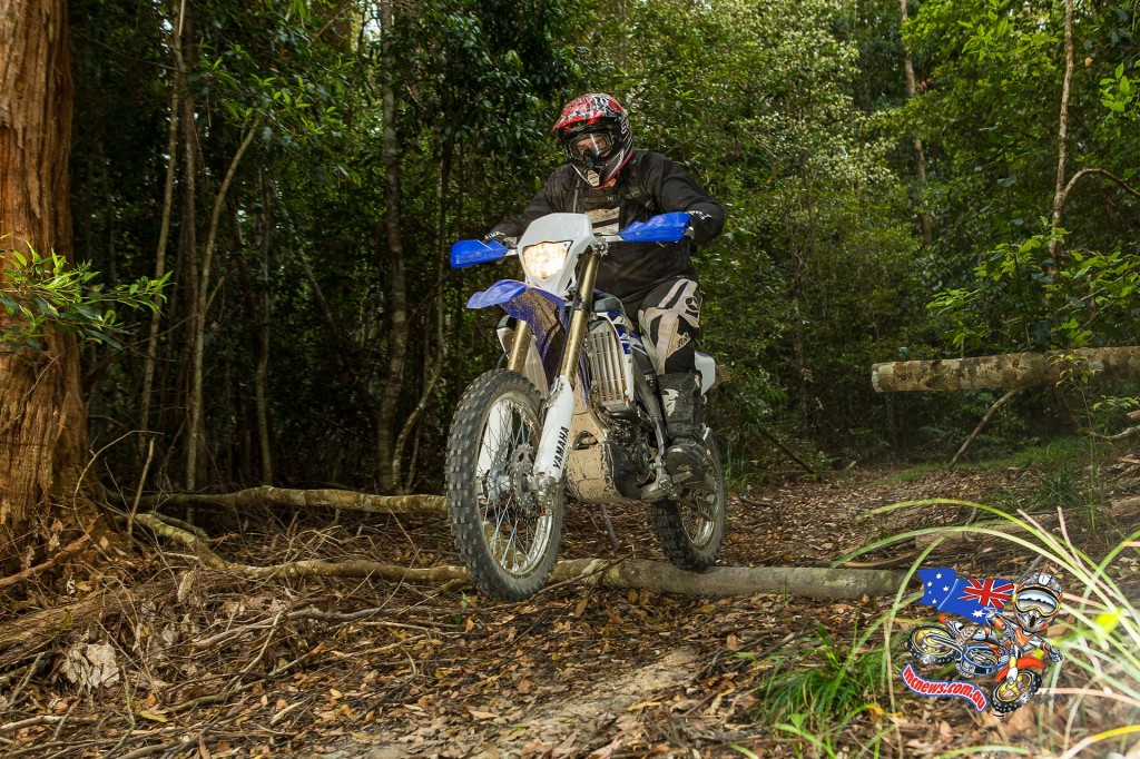 Trev on the 2015 Yamaha WR250F