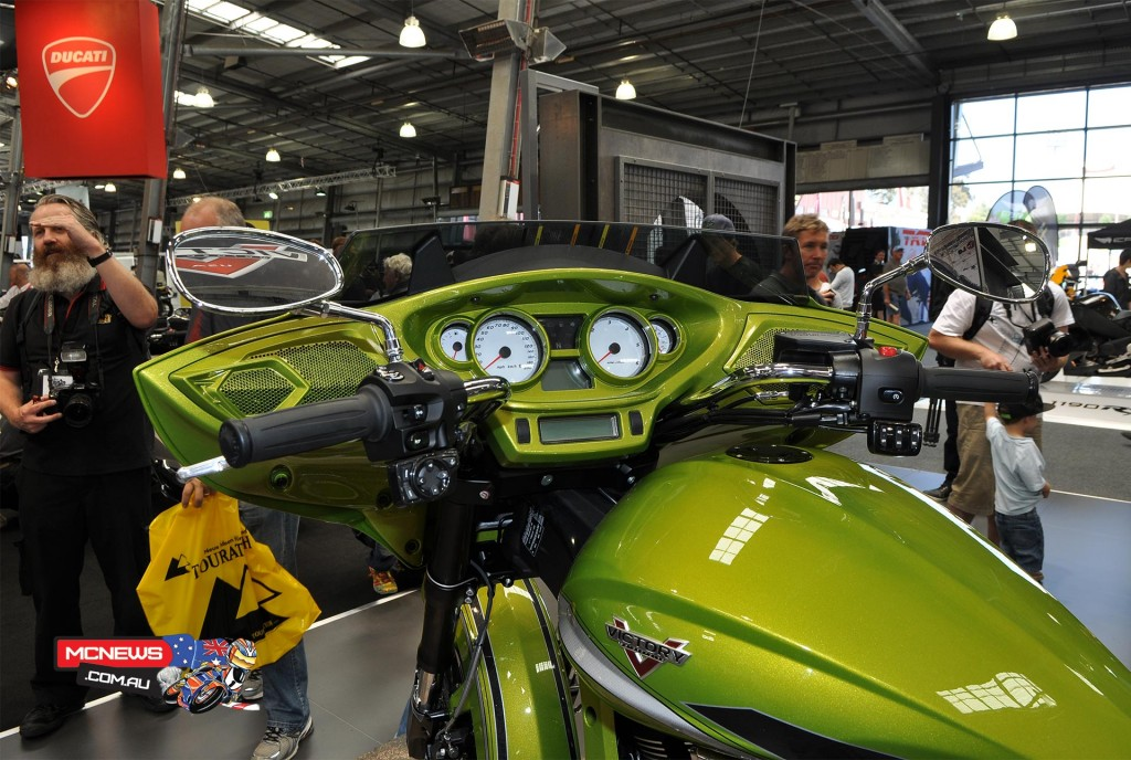 Victory Motorcycles on display at Moto Expo Melbourne