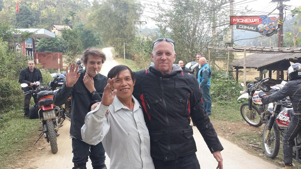 Snag and family in Vietnam