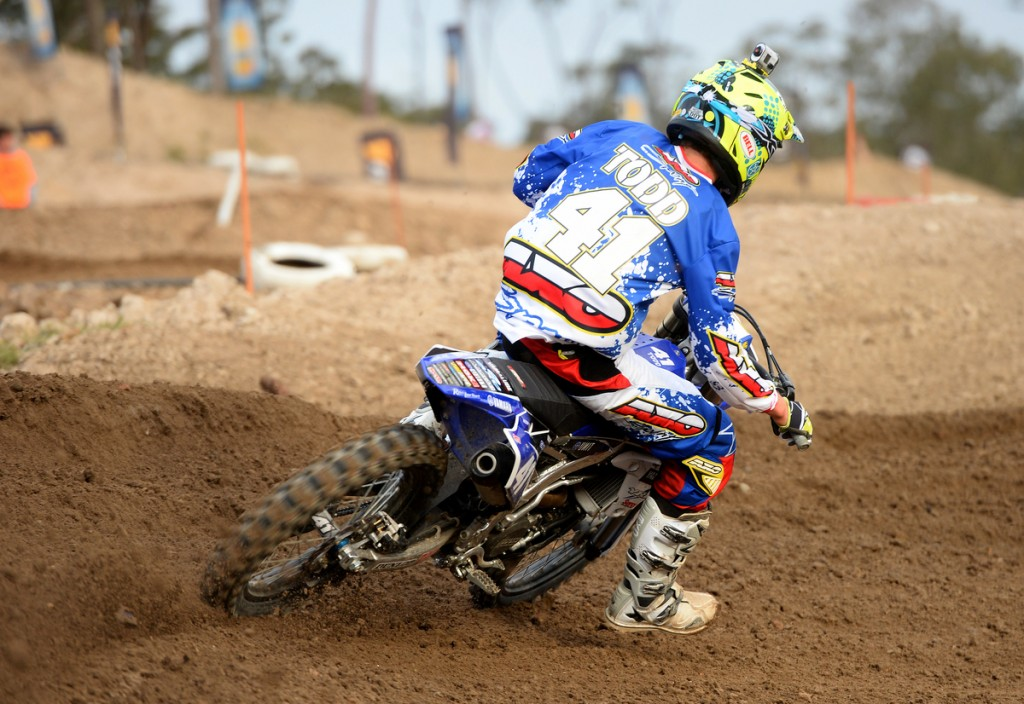 Wilson Todd wrapped uip the QLD Supercross Championship