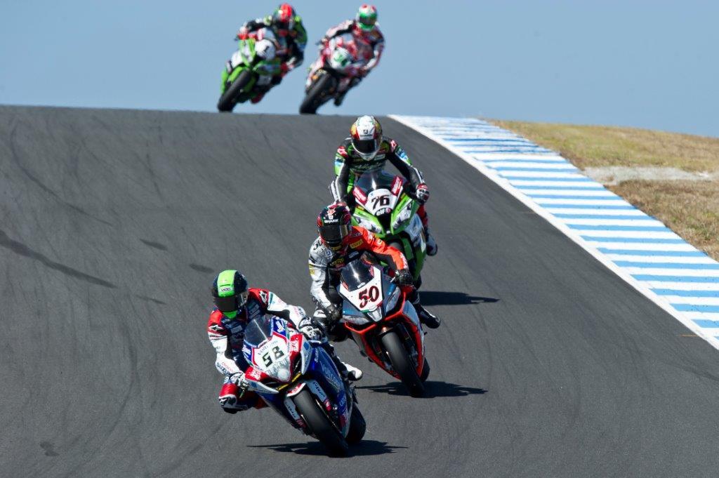 World Superbikes negotiate Lukey Heights