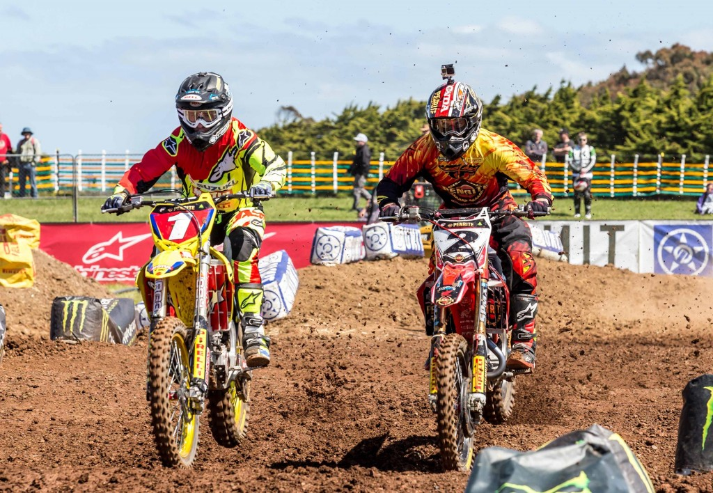 Matt Moss and Jay Marmont battled it out in the SX1 class - Marc Jones Photography