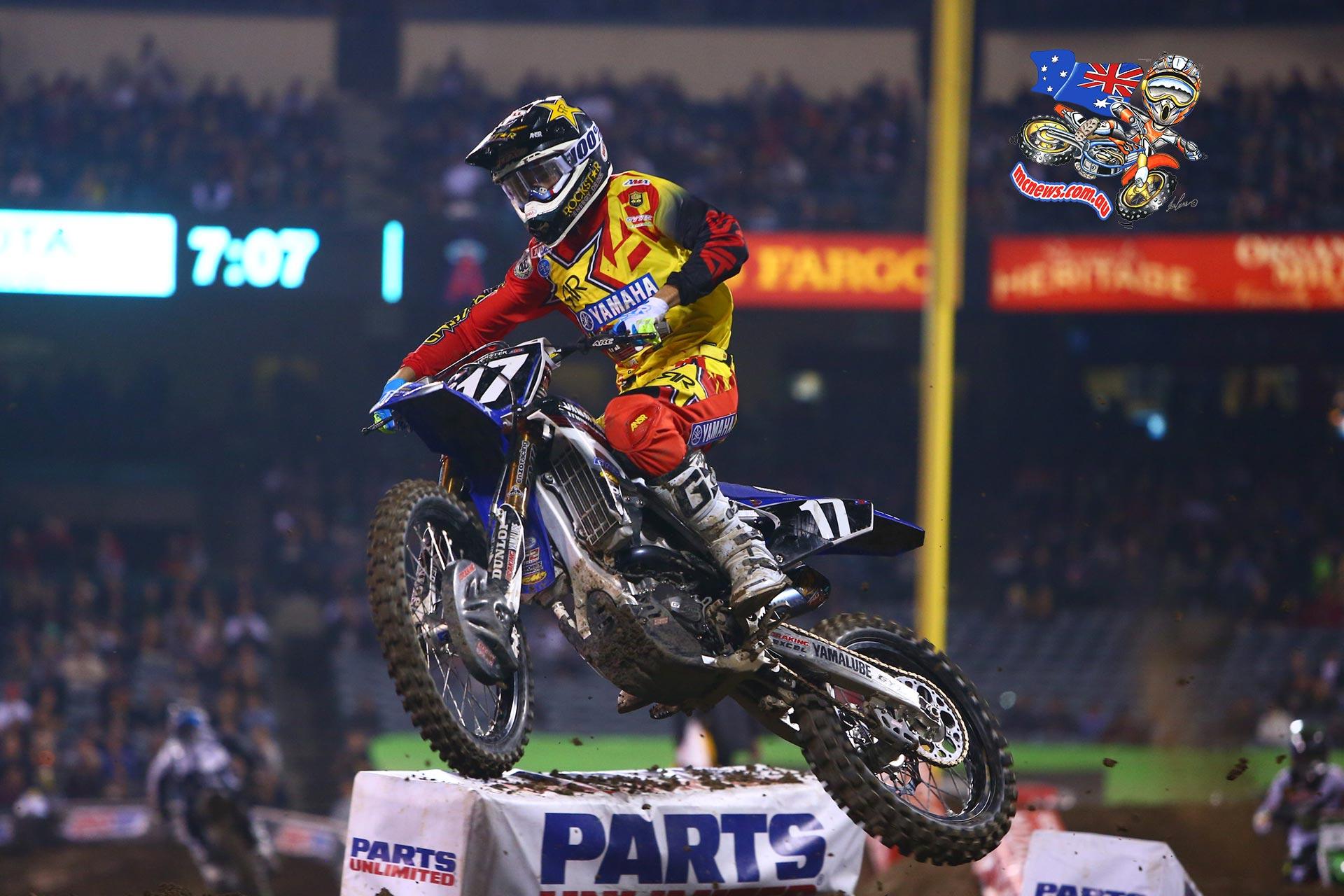 Current Western Regional 250SX Class Points Leader, Cooper Webb
