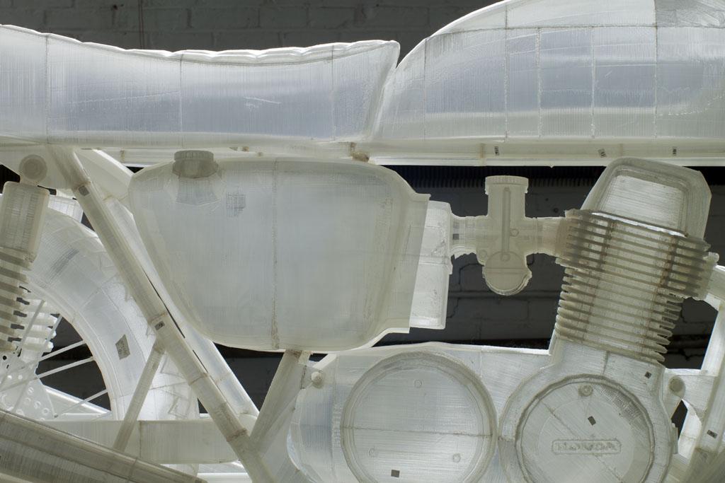 3D Printed 1972 Honda CB500 by Jonathan Brand